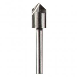 Fresa De Alta Velocidad Para Ranurar En V 6.4mm Dremel 640