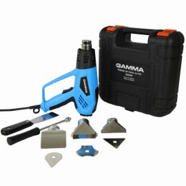 Pistola De Calor 2000w Gamma G1936KAR + Maletín y Accesorios