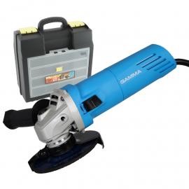 "Amoladora Gamma 750w 115mm + Maletín Organizador 16"""