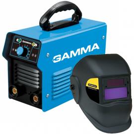 Soldadora Inverter Gamma ARC200 + Máscara fotosensible Stanley 2000E Italiana