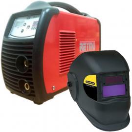Soldadora Inverter Reymu 200 Amp + Máscara Fotosensible Stanley 2000E