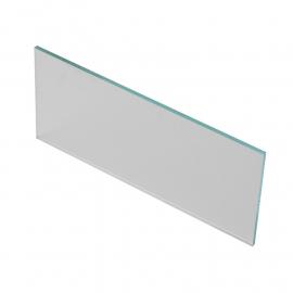 Cristal Rectangular Incoloro Para Careta de Soldador