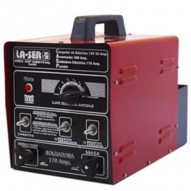 Cargador Arrancador Portátil La-Ser 35/350 Con Soldadora 170 Amp