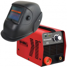 Soldadora Inverter 160 Amp Laser Discovery 225 + Máscara Fotosensible Laser