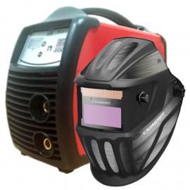 Soldadora Inverter Reymu 200 Amp + Máscara Fotosensible Lusqtoff Hero