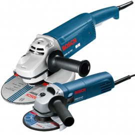 Combo Amoladoras Bosch Gws 20-180 2000w + Gws 6-115 670w