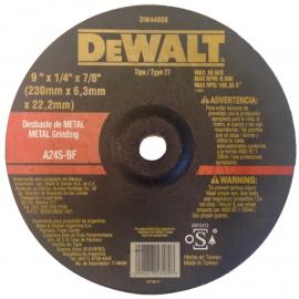 Disco Centro Deprimido Dewalt 230 X 6.3 X 22 Metal