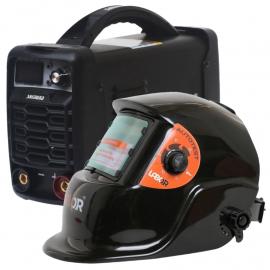 Combo Soldadora Inverter Shimura 140 Amp + Máscara Fotosensible Labor
