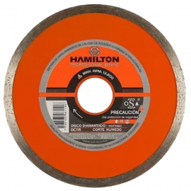 Disco Diamantado Hamilton 115mm Continuo