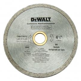 """Disco Diamantado Dewalt 4 1/2 """" Continuo"""