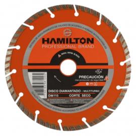 Disco Diamantado Hamilton 115mm Multiturbo