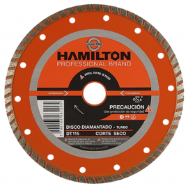 Disco Diamantado Hamilton 115mm Turbo