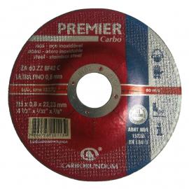 Disco Centro Deprimido Carborundum 115X0.8X22 Premier