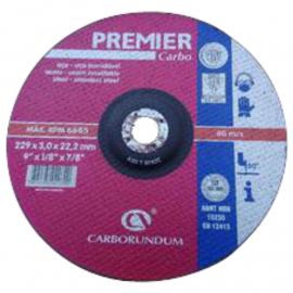 Disco Centro Deprimido Carborundum 230X3.0X22.2 Premier