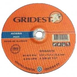 Disco Centro Deprimido Gridest 230X6.4X22