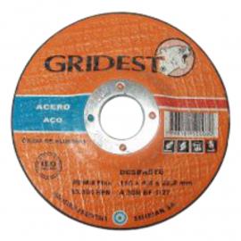 Disco Centro Deprimido Gridest 115X6.4X22