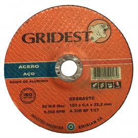 Disco Centro Deprimido Gridest 180X4.8X22