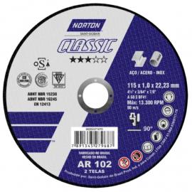 Disco Centro Plano Norton 115X1.0X22 Classic
