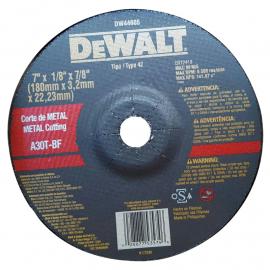 Disco Centro Deprimido Dewalt 180 X 3.2 X 22 Metal