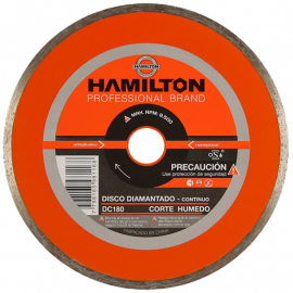 Disco Diamantado Hamilton 180mm Continuo