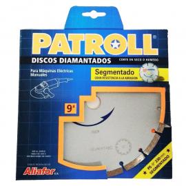 Disco Diamantado Patroll 230mm Segmentado