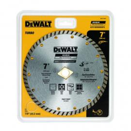 """Disco Diamantado Dewalt 7"""" 180mm Turbo"""