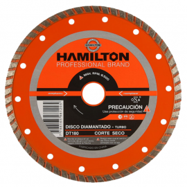 Disco Diamantado Hamilton 180mm Turbo