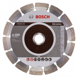 Disco Diamantado Bosch Abrasivo 180 Mm Segmentado