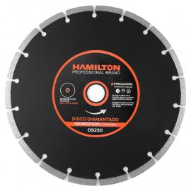 Disco Diamantado Hamilton 230mm Segmentado
