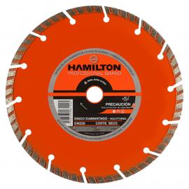 Disco Diamantado Hamilton 230mm Multiturbo