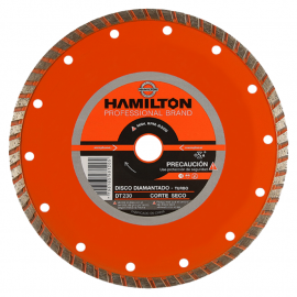 Disco Diamantado Hamilton 230mm Turbo