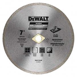 """Disco Diamantado Dewalt 7"""" Continuo"""