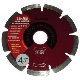 "Disco Diamantado Aliafor Ls-Ab Mx 4.5"""