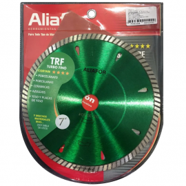 "Disco Diamantado Aliafor Trf 7"" 180mm"