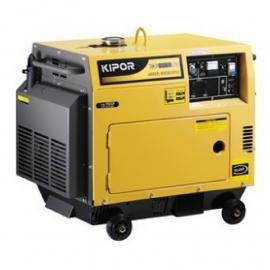 Grupo electrógeno generador Kipor KDE6500T3 Silent