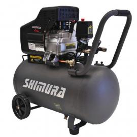 Compresor de aire 50 litros 2,5HP 2 salidas Shimura