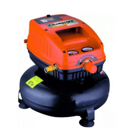 Compresor Lusqtoff LC826 Sin Aceite 3/4HP 4Lts 100 Psi