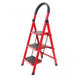 Escalera Plegable Metálica Tipo Tijera KLD 3 Escalones 70 cmts