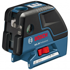 Nivel Laser Combinado 2 Líneas y 5 Puntos Bosch GCL 25