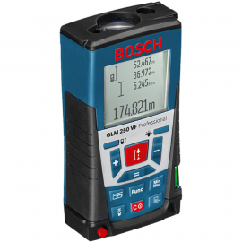 Medidor De Dimensiones Laser Bosch GLM 250 VF - 250 mts