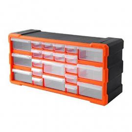 Gavetero Organizador Plástico Tactix 320632 Con 22 Cajones (25x50x16 Cmts.)
