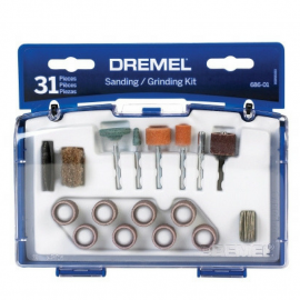Set Kit De Accesorios Multiuso 31 Piezas Para Mini Torno Dremel 686