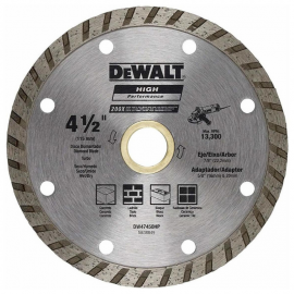 """Disco Diamantado Dewalt 4 1/2 """" Turbo"""