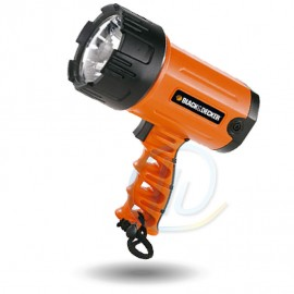Linterna Reflector Recargable LED Black Decker Bsl100