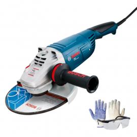 "Amoladora Bosch 7"" Gws 22-180 2200w + Kit de Regalo"