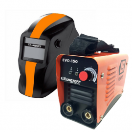Soldadora Inverter 125 Amp Lusqtoff Evo-150 + Fotosensible SET-1E