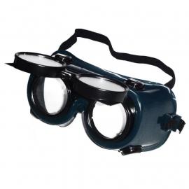Antiparra Para Soldador Autógena Prowork Visor Movil 2 Oculares