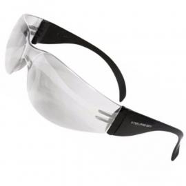 Anteojo De Seguridad Steelpro Spy Transparente Filtro UV Anti Rayadura