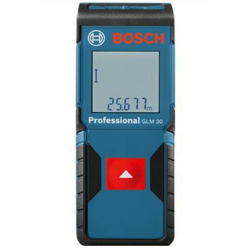 Medidor de distancia laser bosch glm30 medidores de for Medidor de distancia laser