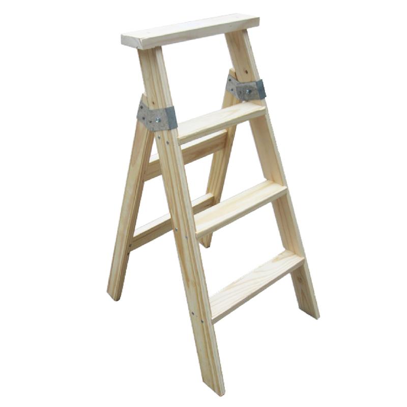 escalera pintor de madera 4 pelda os tipo tijera mts
